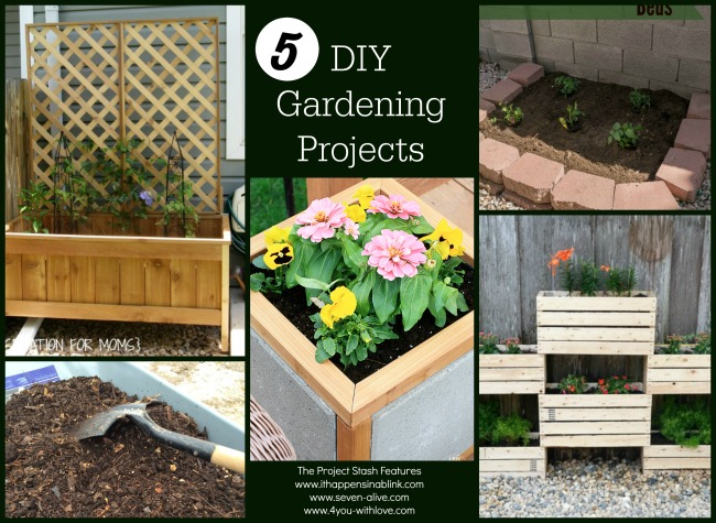 5 DIY Gardening Projects