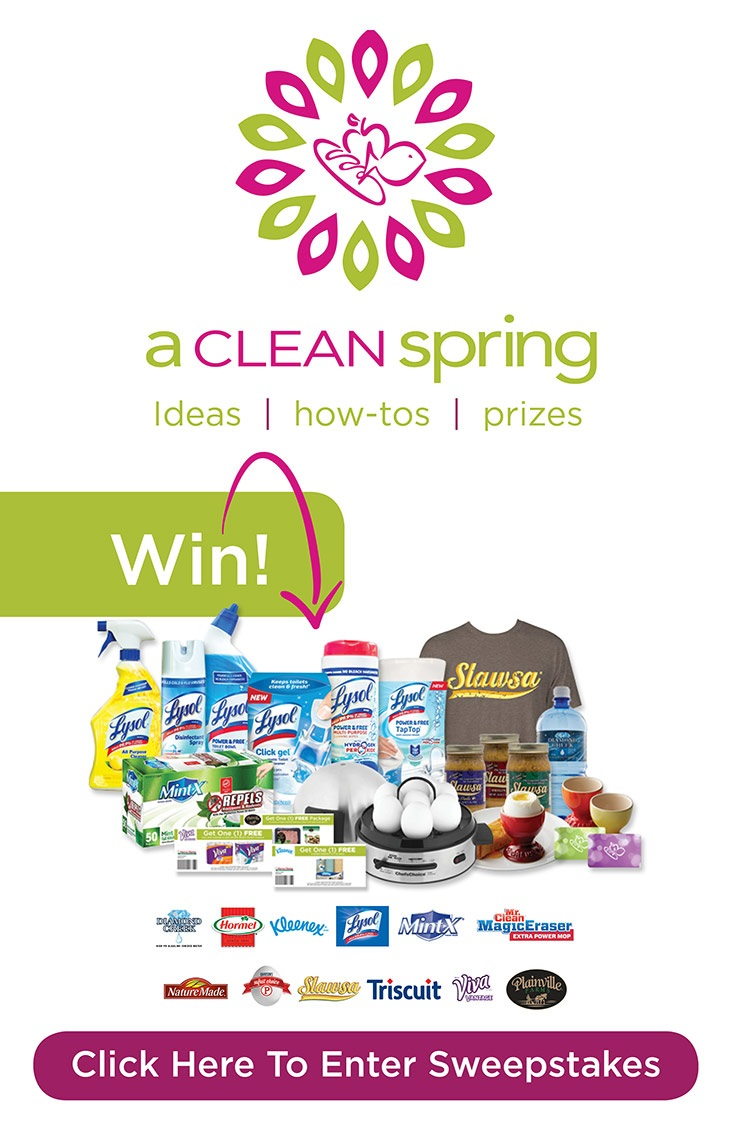 Harris Teeter Clean Spring Promotion | #ad
