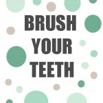 Brush Your Teeth Printables