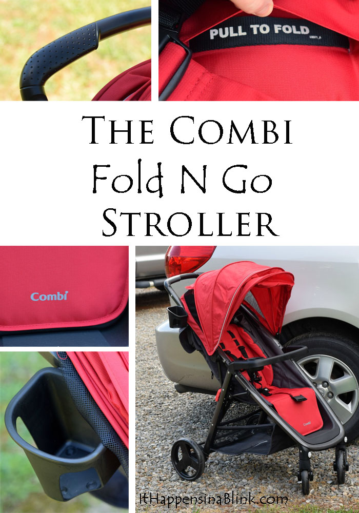 Combi Fold N Go Stroller Review | #ad | Read about the Combi Fold N Go Stroller