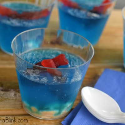Fish Bowl Fun JELL-O recipe | #ad | Planning an Under the Water Fun Afternoon | #ad | Plan an Under the Water themed family afternoon