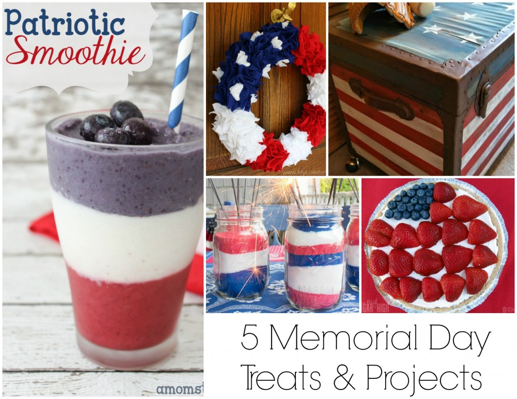 5 Memorial Day Treats and Projects