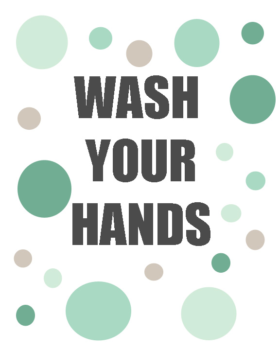 Wash Your Hands Printables   |  #ad
