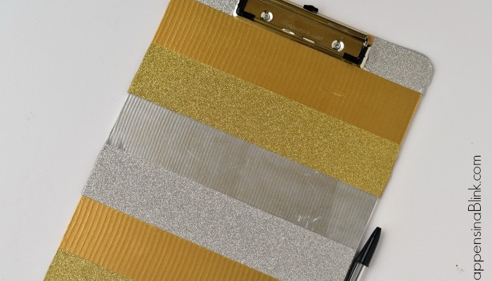 Duck Tape Clipboard | Spruce up a clipboard in less then 15 minutes with Duck Tape | Neat tween craft or back to school craft