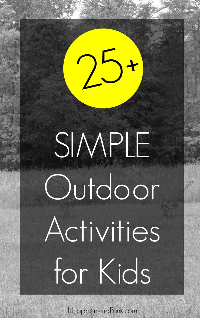 25+ Simple Ideas for Outdoor Play  |  AD  #Outtoplay