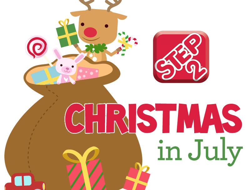 Christmas in July at Step2