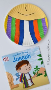 Joseph and the Coat of Many Colors Craft | A cheap and easy craft for home, Sunday School, VBS, or children's church