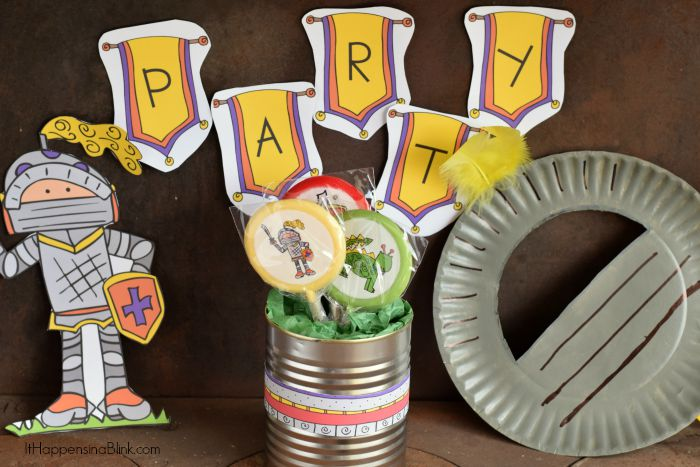Quick & Easy Knight Themed Party