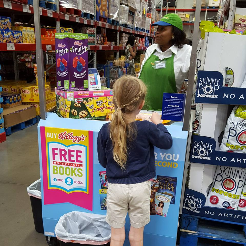 Kellogg's Book Redemption at Sam's Club | AD