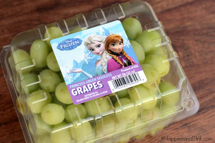 Frozen Themed Grapes |  AD