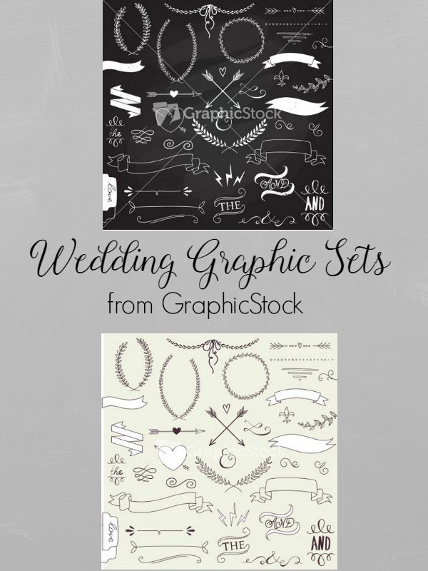 Wedding Graphic Sets |  AD