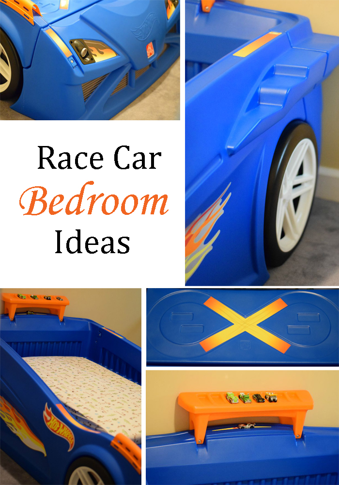 Race Car Bedroom Ideas | AD | Ideas for transforming your little one's room in place to speed off into his or her dreams!