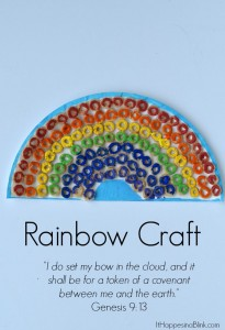 Rainbow Craft | Great for Children's Church, VBS, or Sunday School