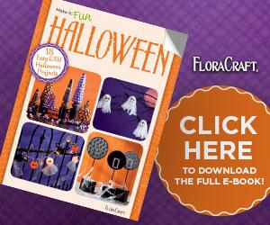 FloraCraft Halloween book