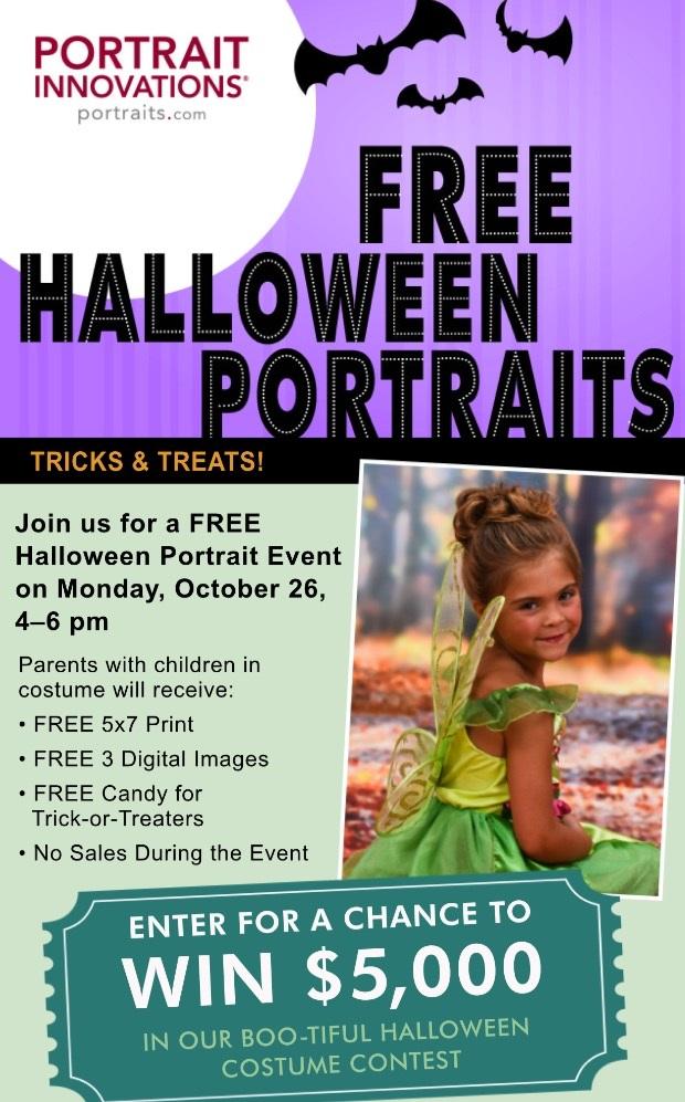 Portrait Innovations Free Halloween Photos | AD