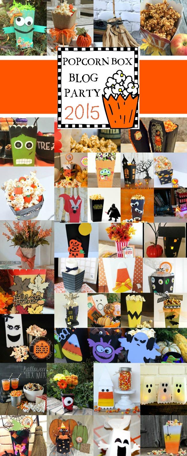 Popcorn Box Craft Ideas