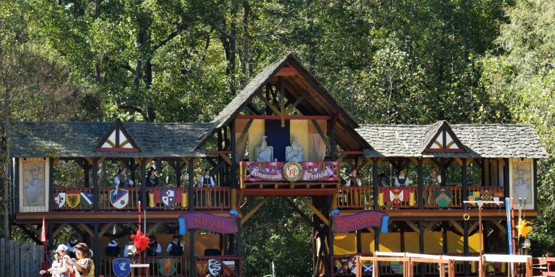 Traveling with Kids: The Carolina Renaissance Festival