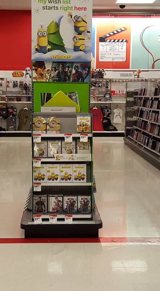 Minions Movie Display at Target | AD #MinionsAtTarget