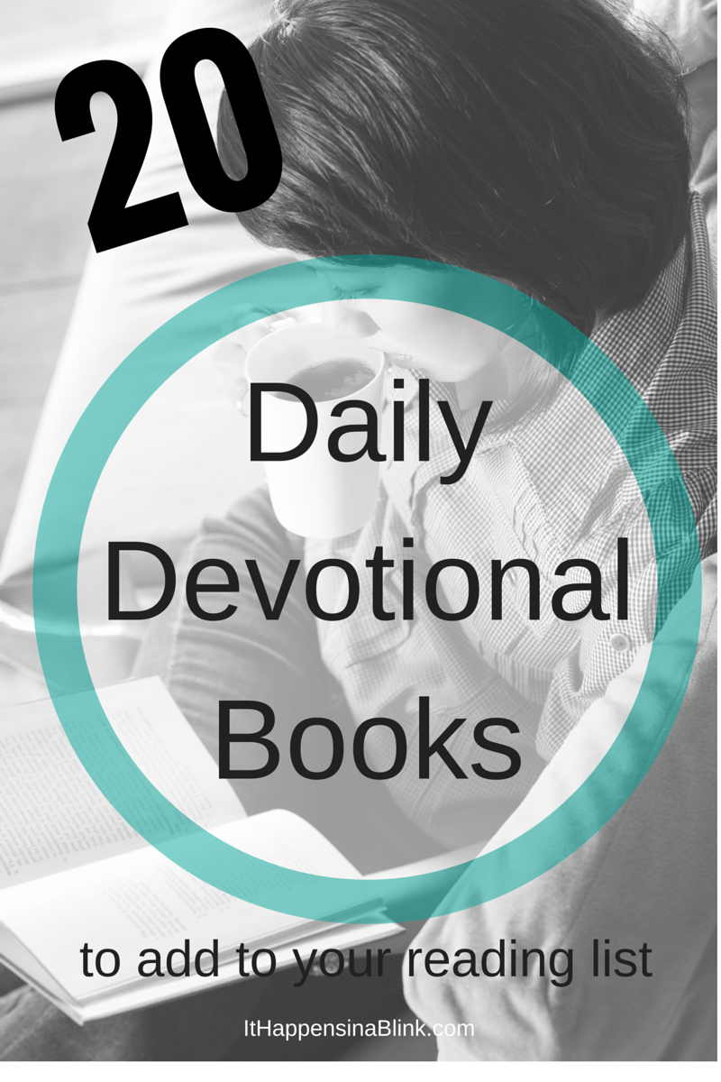 20 Daily Devotional Books to add to your reading list