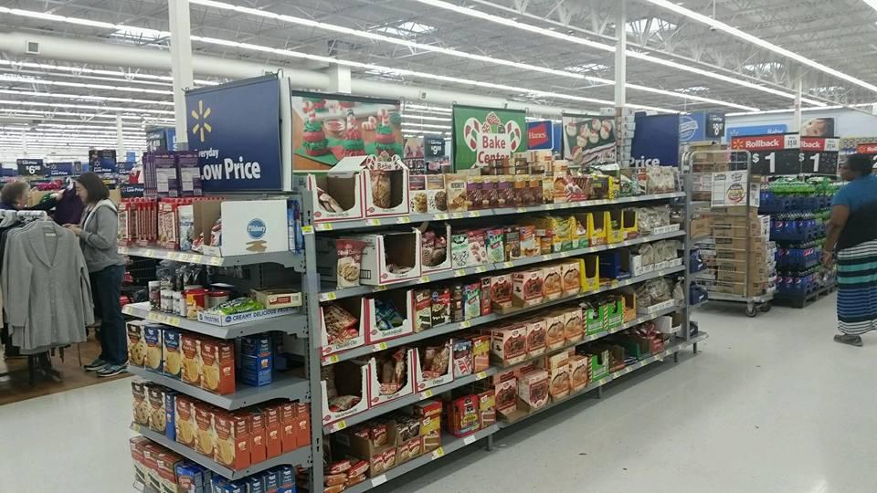 Walmart Bake Center for the holidays AD #SweetenTheSeason