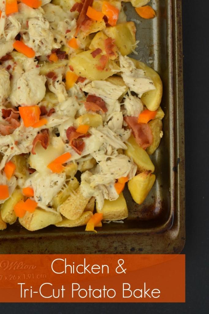 Chicken and Tri-Cut Potato Bake | AD #FarmtoFlavor