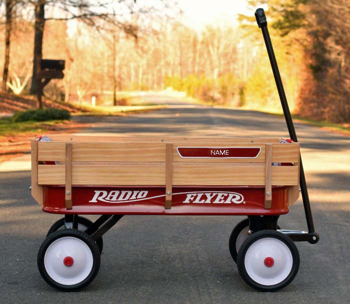 Radio Flyer's Build-A-Wagon and 25 Days of Holiday Giveaways