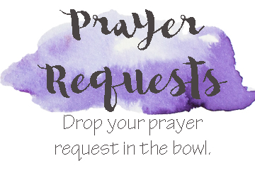 War Room Prayer Request Printable