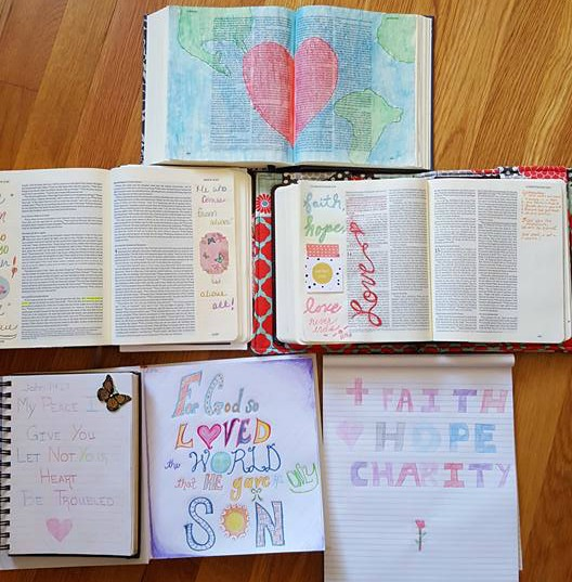Planning a Bible Journaling Workshop for Your Church or Small Group