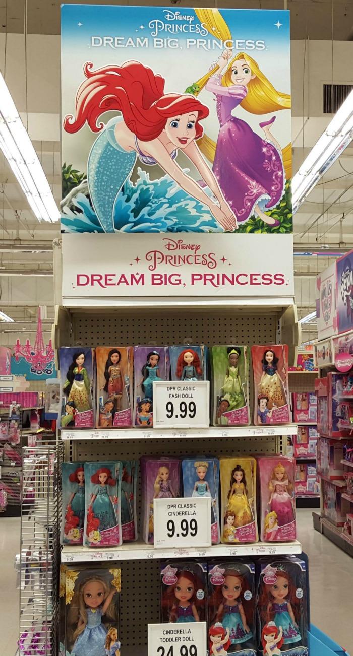Disney Princesses In store