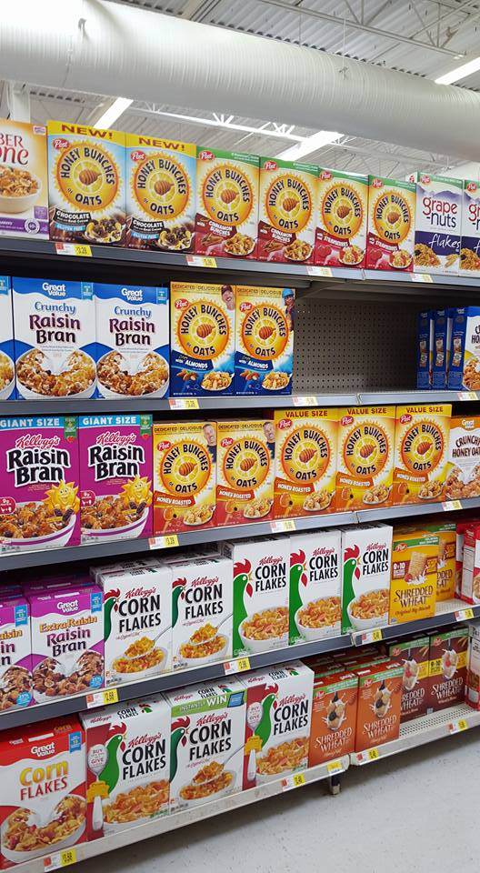 Honey Bunches of Oats at Walmart AD #CerealAnytime