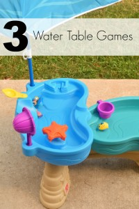 3 Water Table Games with the Step2 Spill & Splash Seaway Water Table AD | 3 fun games for kids to play with their water table