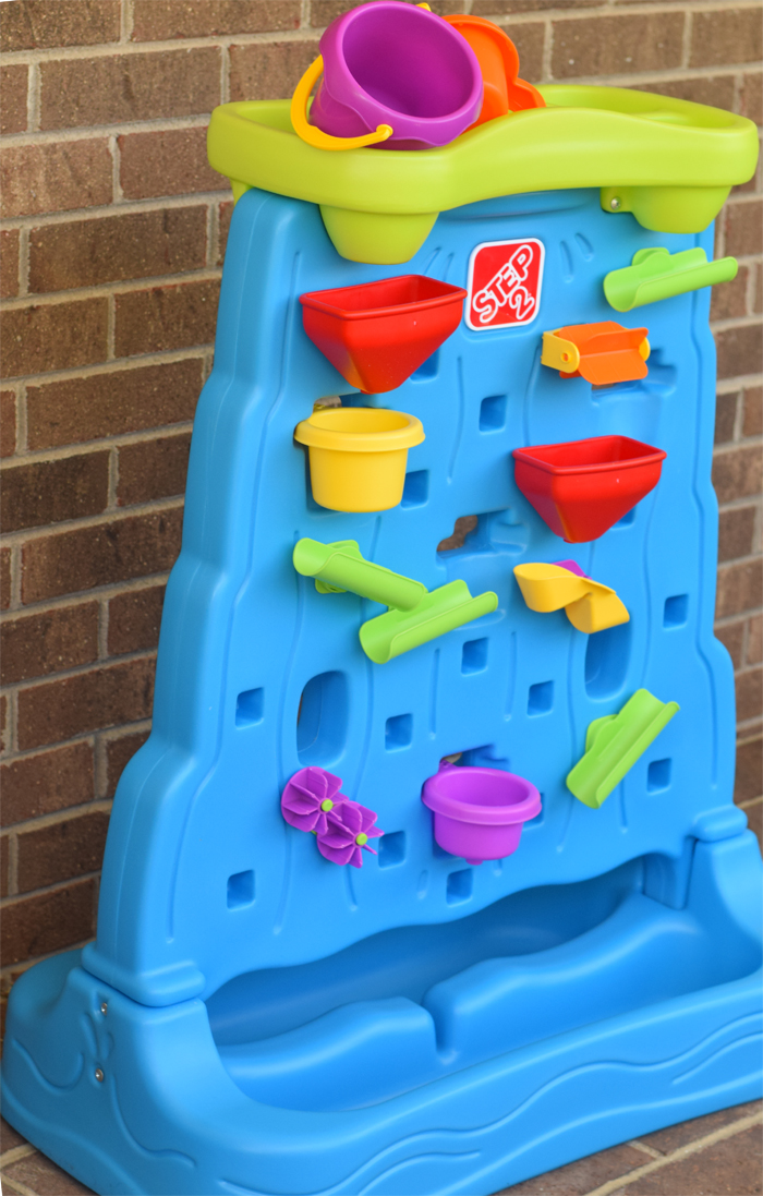 Splashing Around with the Step2 WaterFall Discovery Wall AD