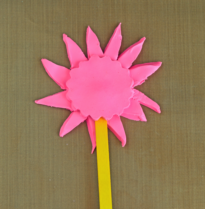 Sculpey Clay Princess Wand Bookmark AD Use Bake Shop clay for kids to make a bookmark topper