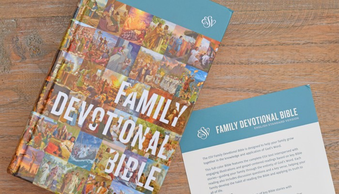 Family Devotional Bible + Giveaway