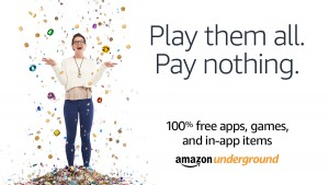 Amazon Underground Featured Apps AD