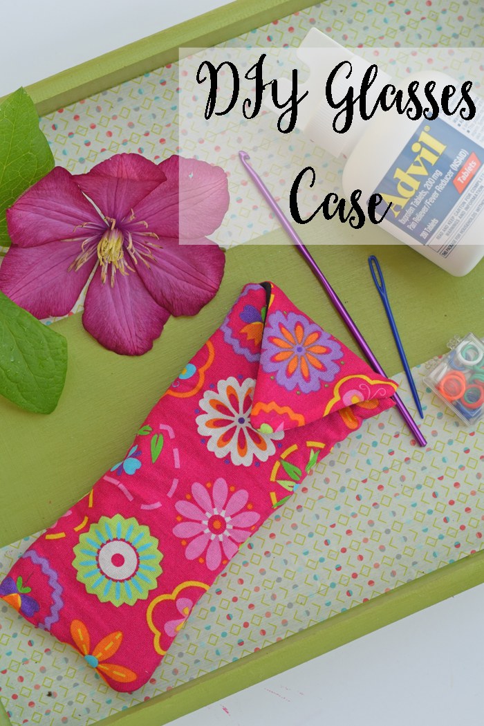 DIY Glasses Case AD #WhatInconvenience Sew a quick glasses case using quilted material to act as a padding