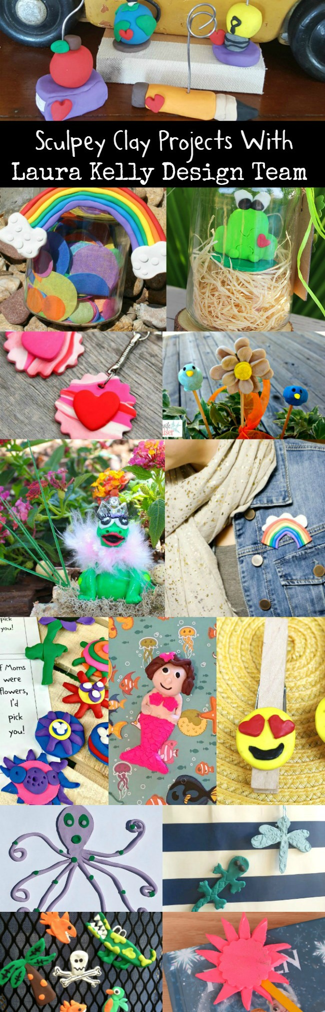 Sculpey Clay Projects | A collection of DIY clay projects