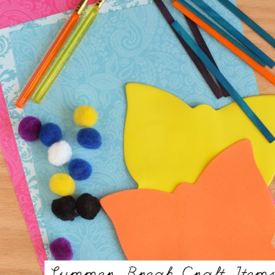 Summer Break Crafting Supplies to Keep on Hand for Kids AD #Guides4ebay