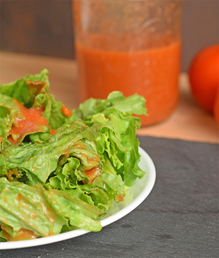 Tomato Vinaigrette Dressing AD #SamsClubMag Use canned tomatoes to make this quick and easy salad dressing