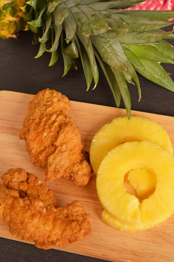[ad] Pineapple Chicken Kabobs #TMNT2andTyson