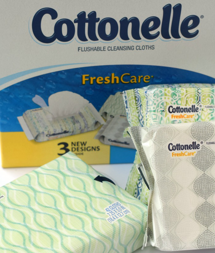 Cottonelle Cleansing Wipes AD