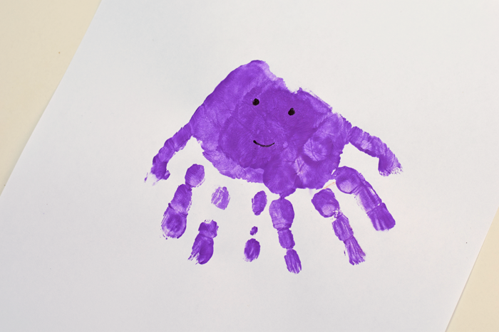 "Letter ""O"" Octopus Handprint Art for Preschoolers"