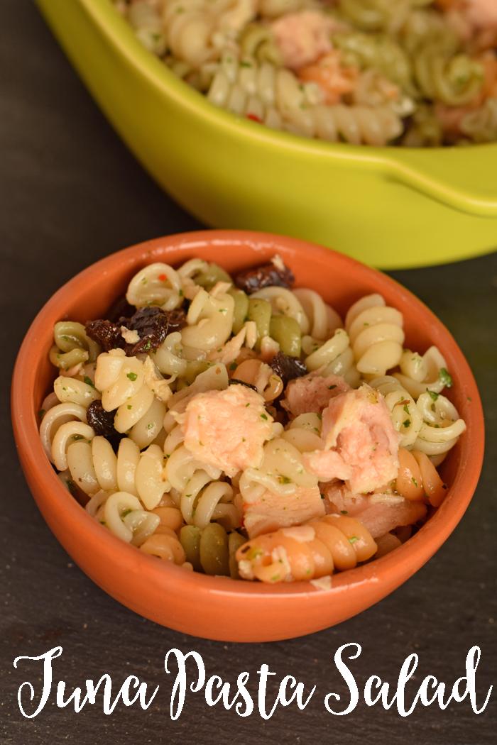 Easy Tuna Pasta Salad AD