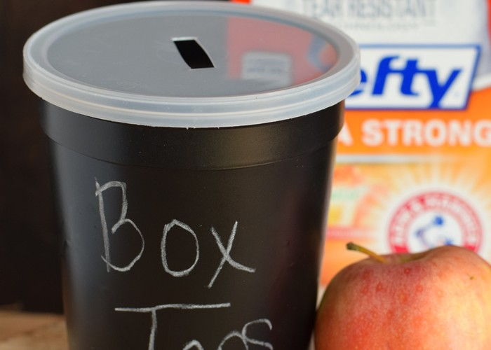 Chalkboard Box Top Container