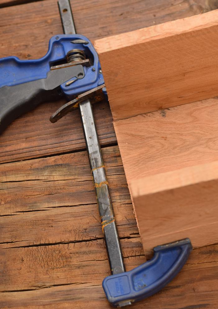 DIY Wood Pallet Planter Box AD