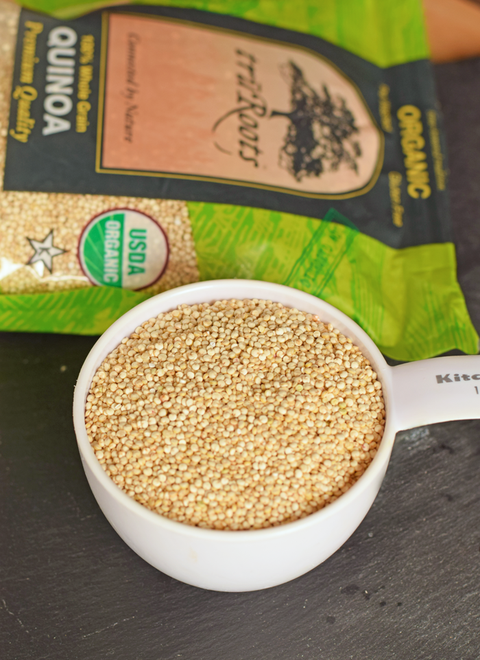 Quinoa and Pepper Pilaf AD Great recipe for block parties and potlucks!