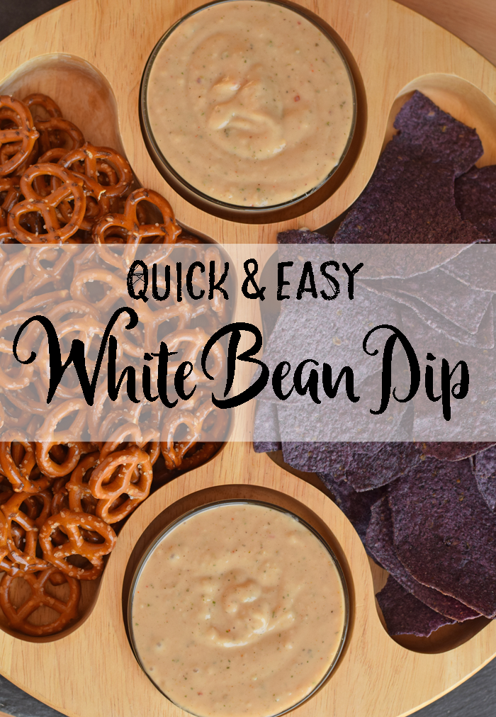 Quick and Easy White Bean Dip AD