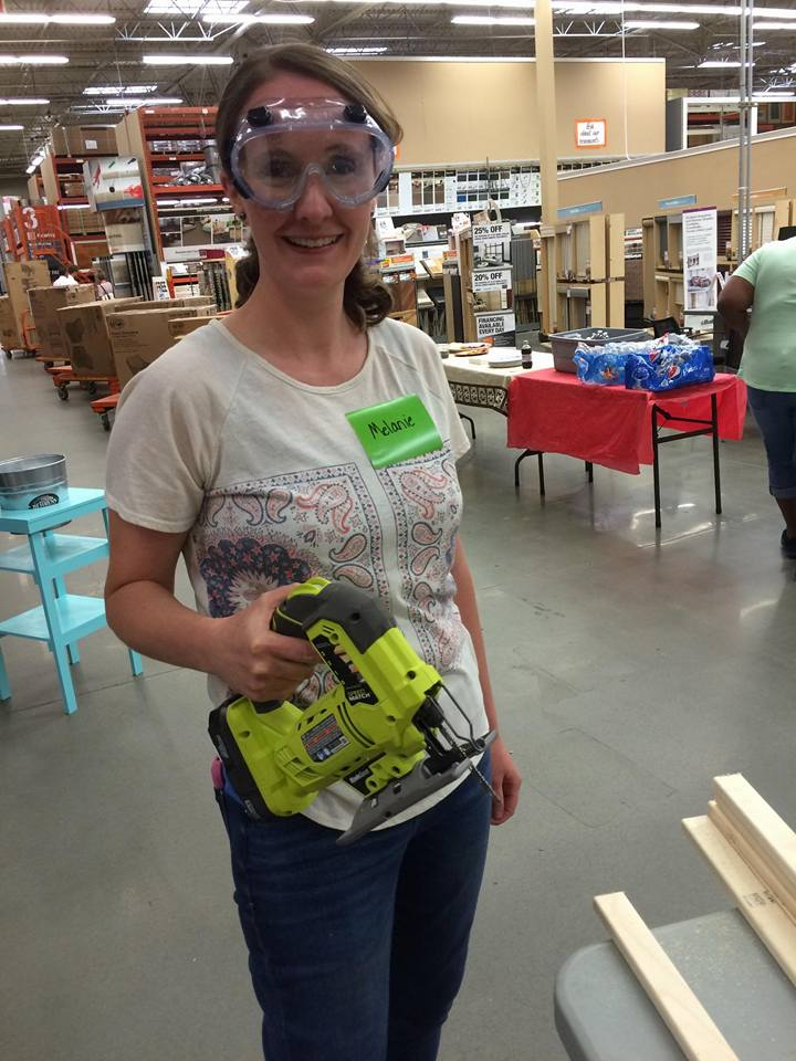 My First Experience with the Home Depot Do-It-Herself Workshop