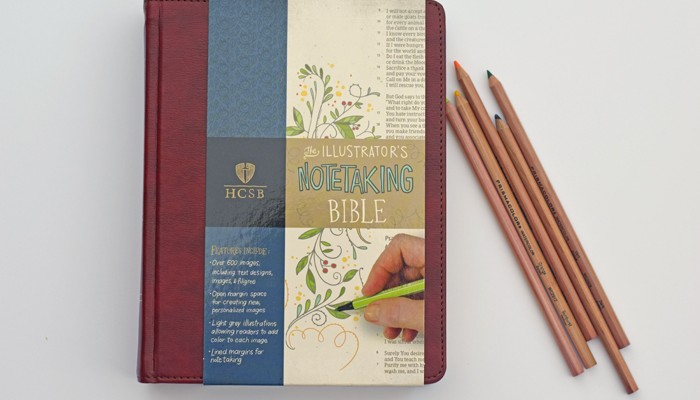 HCSB Illustrator's Notetaking Bible AD