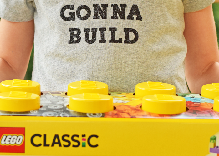 Builders Gonna Build HTV Shirt Inspired by LEGO® Classic